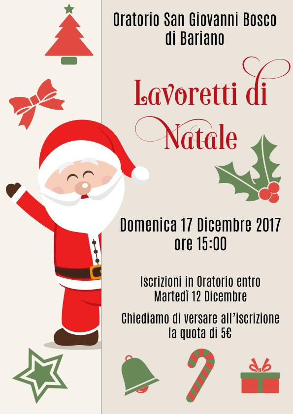 Lavoretti di natale 2017 tuttohevea un blog acceso for Lavoretti di natale 2017